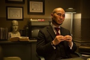 GOTHAM: Guest star BD Wong in the ÒÒRise of the Villains: Mr. FreezeÓ  winter premiere episode of of GOTHAM airing Monday, Feb. 29 (8:00-9:01 PM ET/PT) on FOX.  ©2016 Fox Broadcasting Co. Cr: Jessica Miglio/ FOX