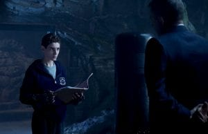 GOTHAM: L-R: David Mazouz and Sean Pertwee in the ÒWrath of the Villains: A Dead Man Feels No ColdÓ episode of GOTHAM airing Monday, March 7 (8:00-9:01 PM ET/PT) on FOX. ©2016 Fox Broadcasting Co. Cr: FOX.
