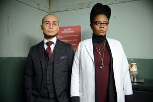 GOTHAM: L-R: Guest stars BD Wong and Tonya Pinkins in the ÒWrath of the Villains: A Dead Man Feels No ColdÓ episode of GOTHAM airing Monday, March 7 (8:00-9:01 PM ET/PT) on FOX. ©2016 Fox Broadcasting Co. Cr: FOX.