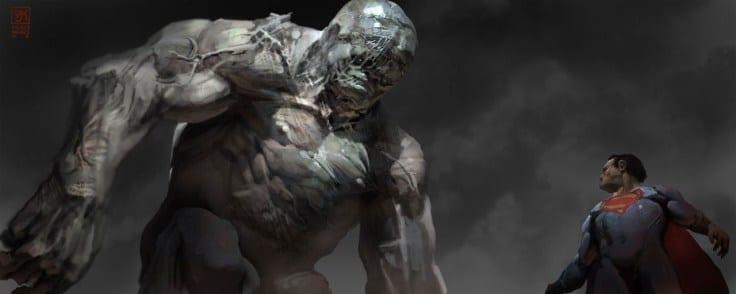 'Batman V. Superman' Doomsday Concept Art and Box Office ...