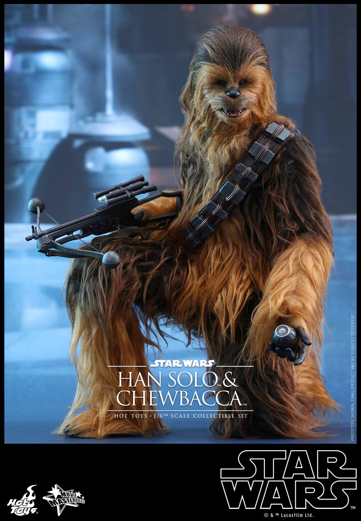 Star Wars The Force vækker Chewbacca Han Solo Action-1322