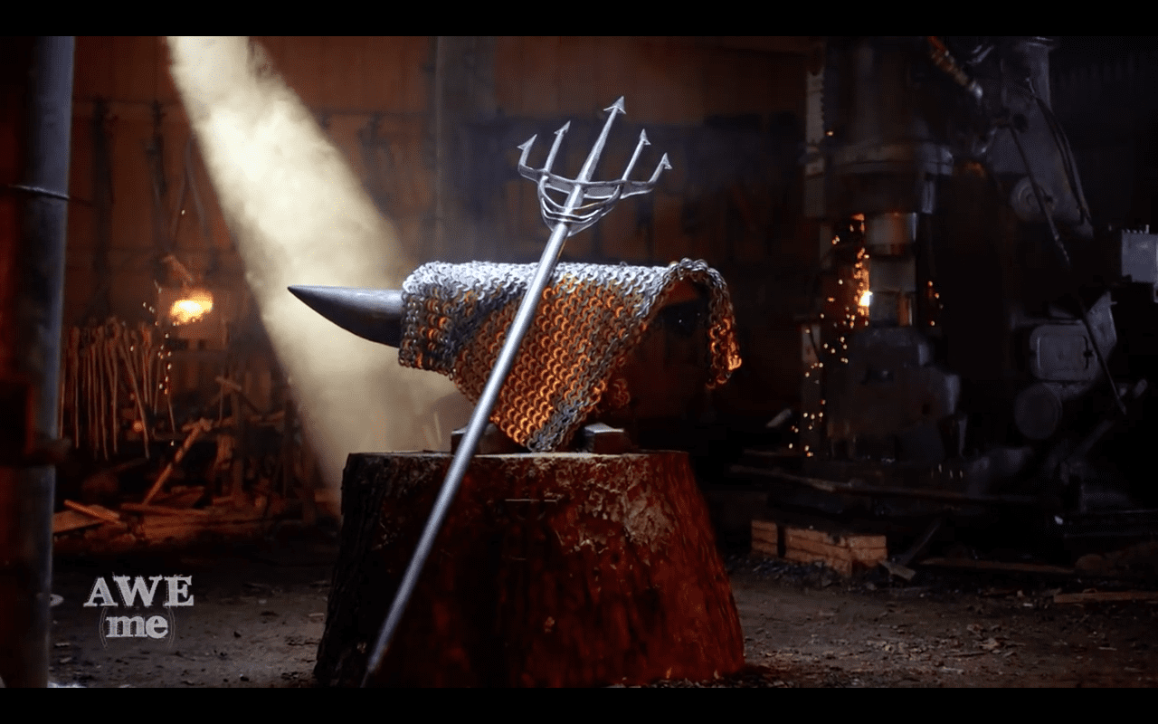 Aquaman's Trident Recreated by Man at Arms - Fan Fest | For Fans, By