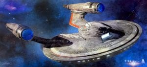 Star Trek beyond USS Franklin concept art