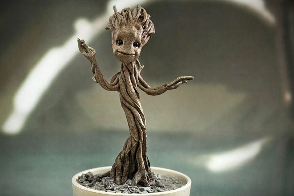 Guardians Of The Galaxy Vol 2 What About Baby Groot S Voice