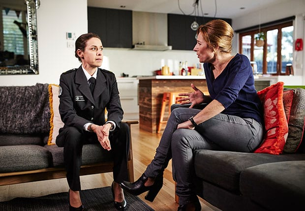 Vera (Kate Atkinson) and Bridget (Libby Tanner). | Photo Credit: Foxtel