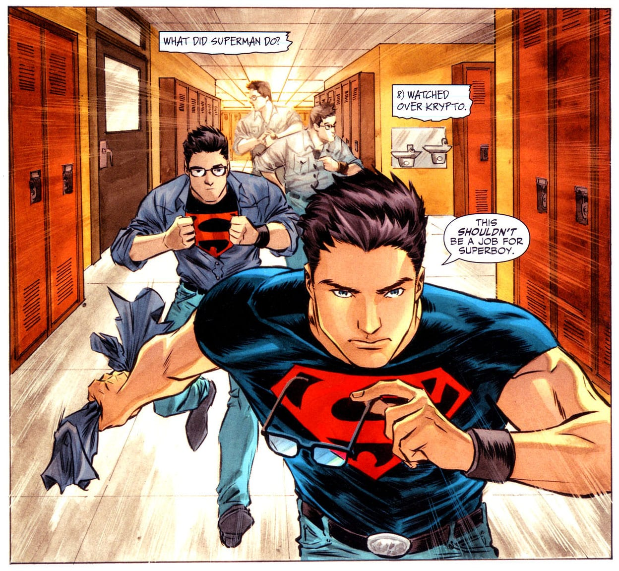 goodbye superboy essay Goodbye by tamagolandnomoto on deviantart  i rly liked this show even if it had alot of superboy and miss marsha young justice see more  remember the titans summary essay remember the titans essay every single season be like that's season cause season 2 is just heartbreak.
