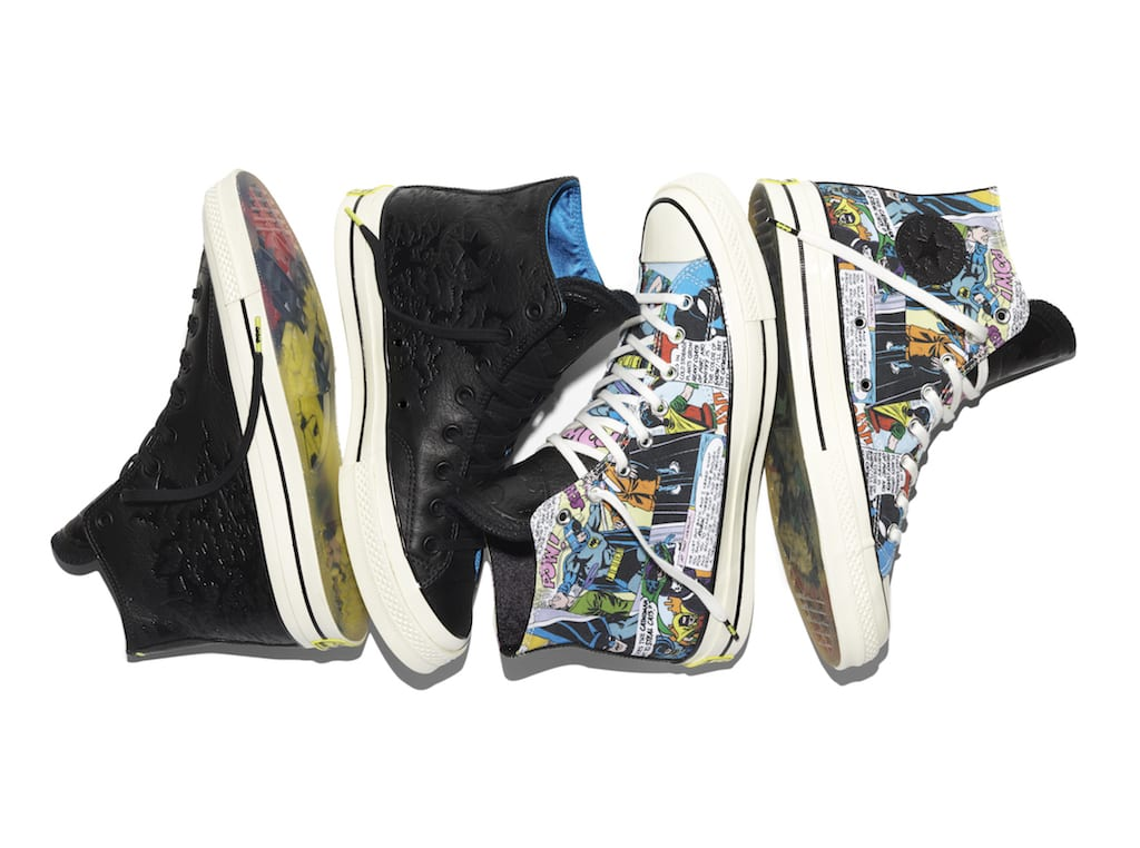 722663ec567982 On October 1st Converse released a special edition Batman Chuck Taylor All  Star Collection to celebrate the 30th anniversary of The Dark Knight  Returns ...