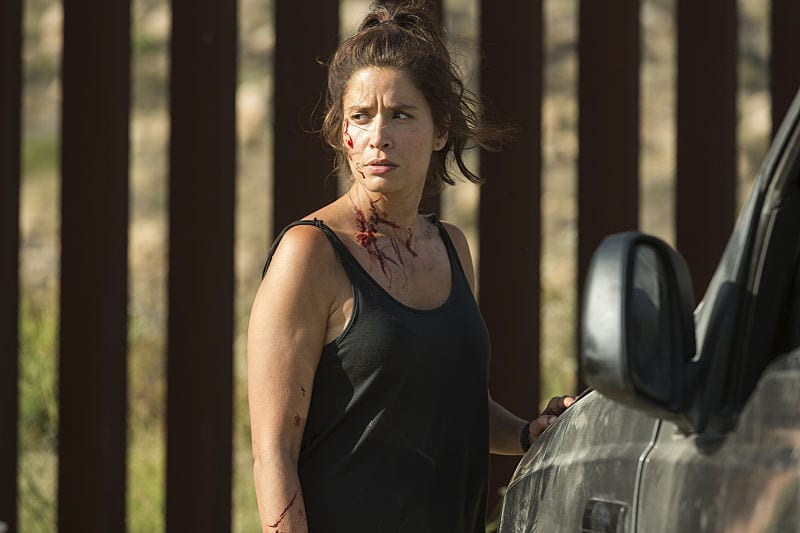 Mercedes Mason as Ofelia Salazar - Fear the Walking Dead _ Season 2, Episode 14 - Photo Credit: Peter Iovino/AMC