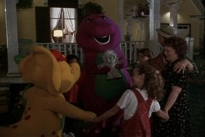 Watching Childhood Favorites As An Adult Barney S Great