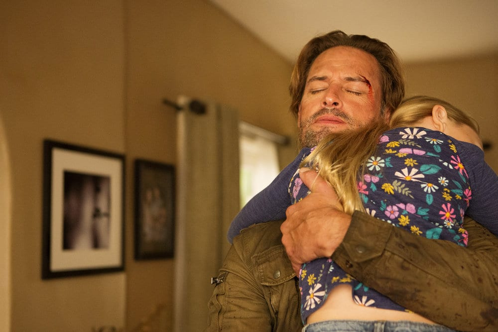 "COLONY -- ""Sublimation"" Episode 203 -- Pictured: Josh Holloway as Will Bowman -- (Photo by: Isabella Vosmikova/USA Network)"