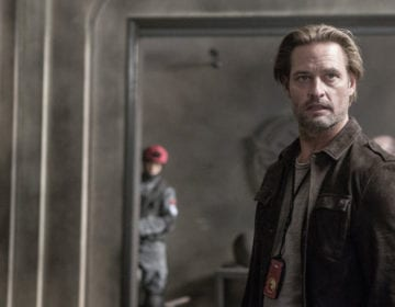 """COLONY -- """"Company Man"""" Episode 205 -- Pictured: Josh Holloway as Will Bowman -- (Photo by: Isabella Vosmikova/USA Network)"""