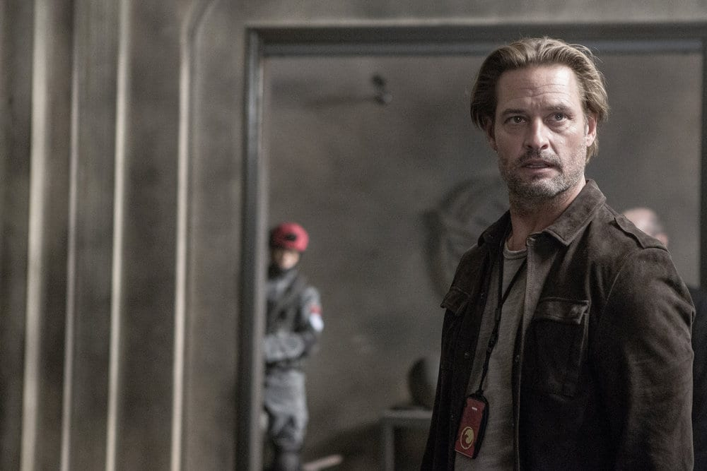 "COLONY -- ""Company Man"" Episode 205 -- Pictured: Josh Holloway as Will Bowman -- (Photo by: Isabella Vosmikova/USA Network)"