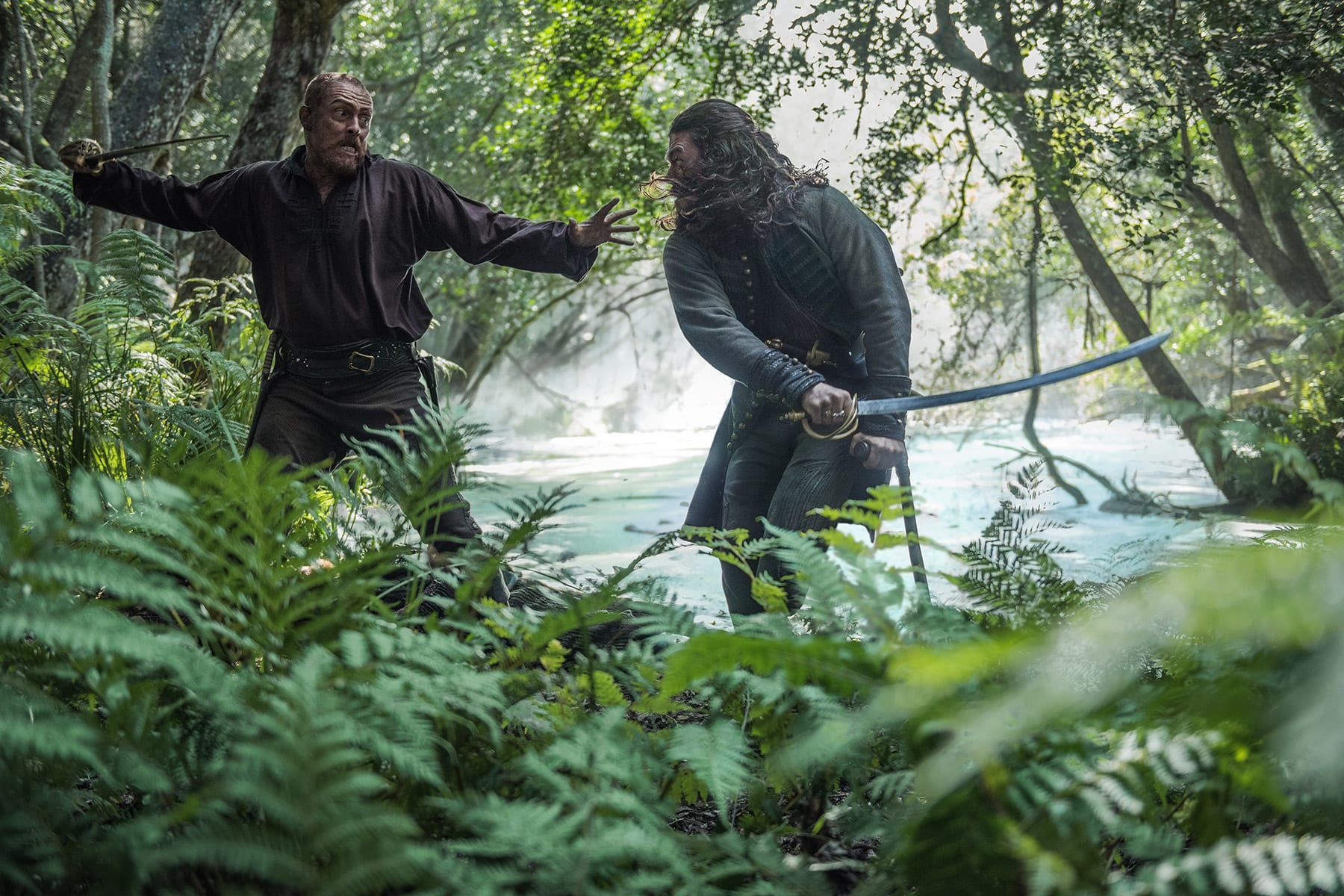 "Fans of the friendship between James Flint and John Silver definitely get what they want in episode 409, ""XXXVII"". The entire hour explores the trust, ..."