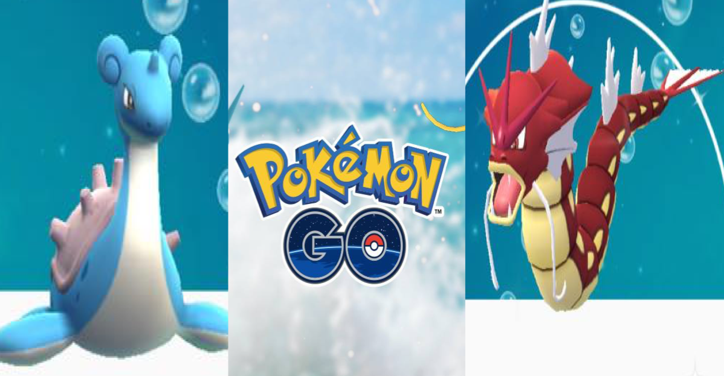 pokemon go water festival event lapras shiny gyarados more