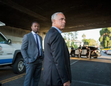 (L to R) Jamie Hector as Jerry Edgar, Titus Welliver as Harry Bosch