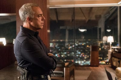 """Bosch: Season 3"" - Titus Welliver as Harry Bosch"