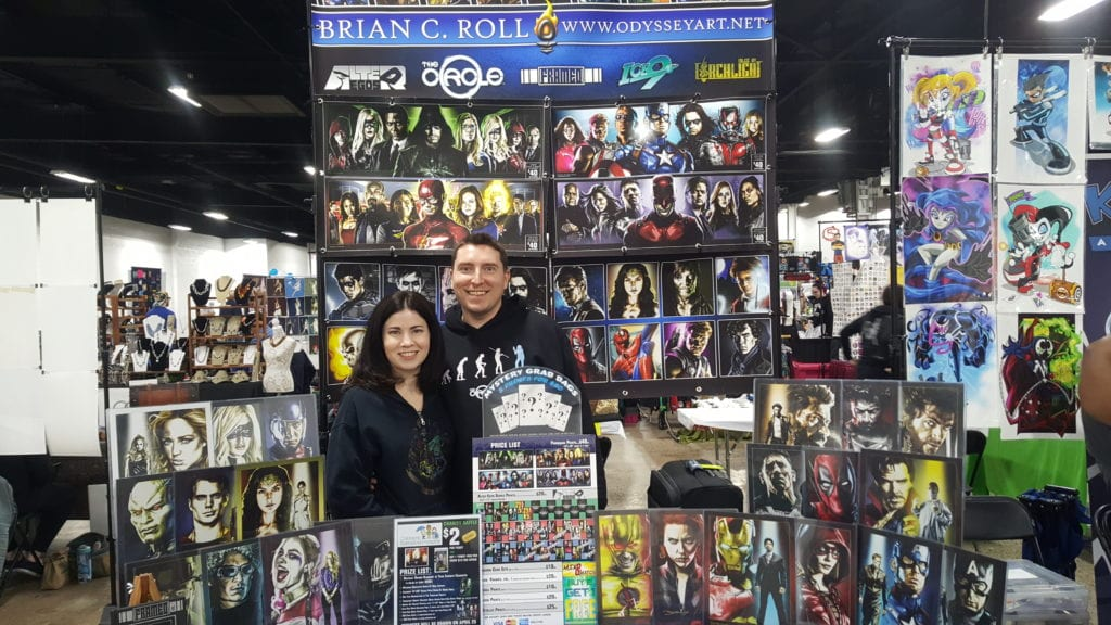 Brian C. Roll, Wife, The Great Philadelphia Comic Con 2017