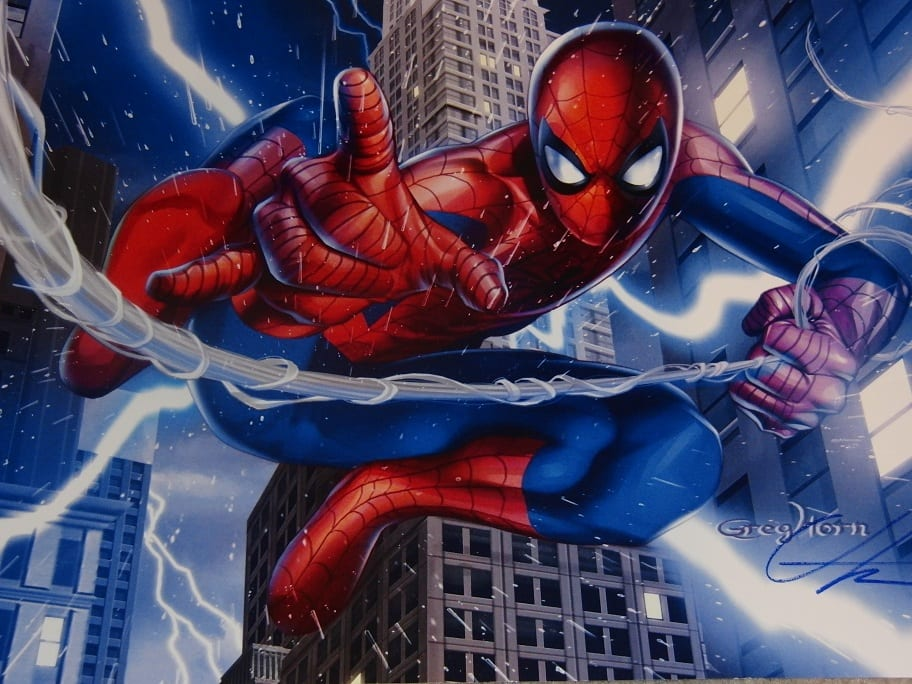 Greg Horn, Spiderman