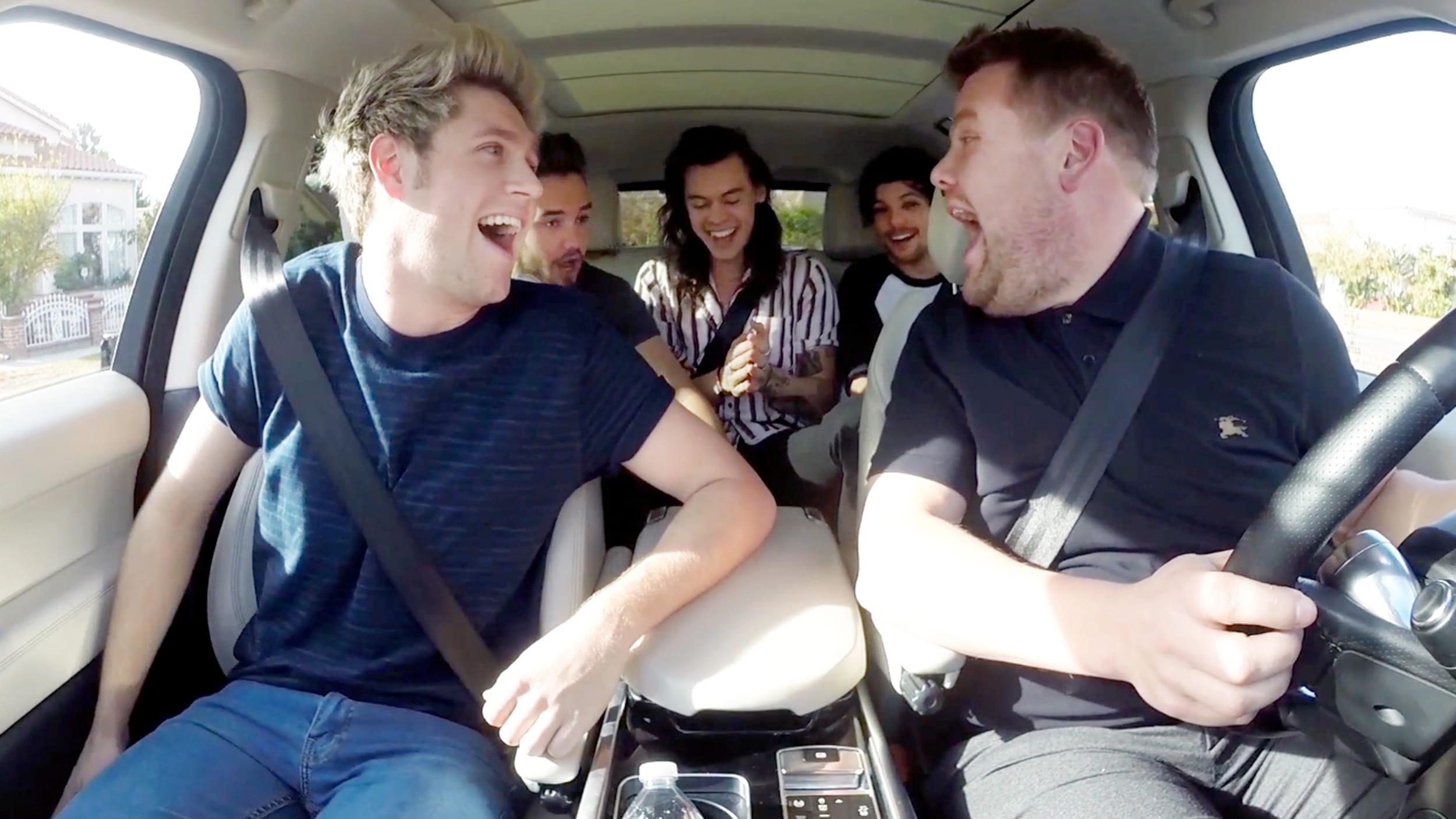 Carpool Karaoke with James Cor...