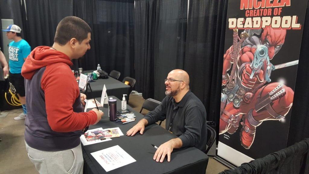 Fabio Nicieza, Deadpool, East Coast Comic Con