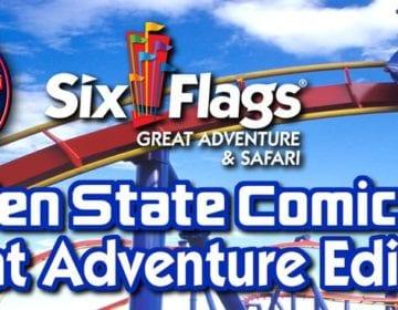 Garden Sate Comic Fest, Six Flags, Great Adventure