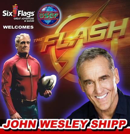 Garden State Comic Fest, Six Flags Great Adventure, The Flash, John Wesley Shipp