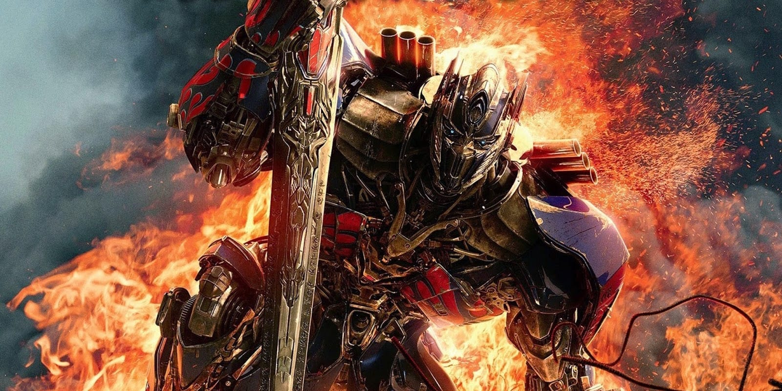 transformers: the last knight:' new look for optimus prime possibly