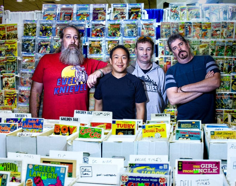 Ming Chen, Comic Book Men, Bryan Johnson, Walt Flanagan, Mike Zapcic