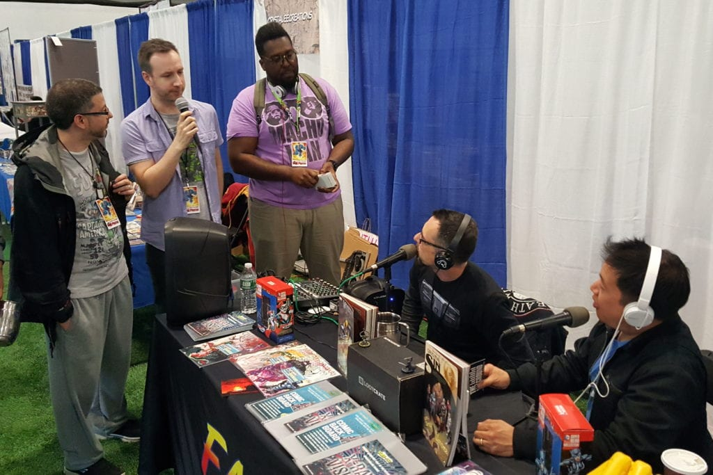 Ming Chen, DW, Comic Book Men, Earplug Podcast, Hudson Valley Comic Con