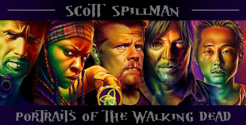 Scott Spillman, The Walking Dead, Cast Portraits