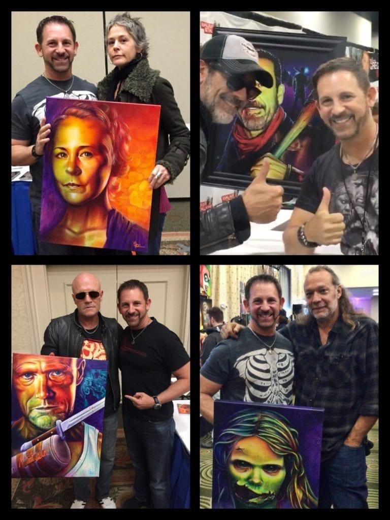 Scott Spillman, The Walking Dead, Greg Nicotero, Neegan, Jeffrey Dean Morgan, Carol Peletier, Melissa McBride, Michael Rooker, Merle Dixon