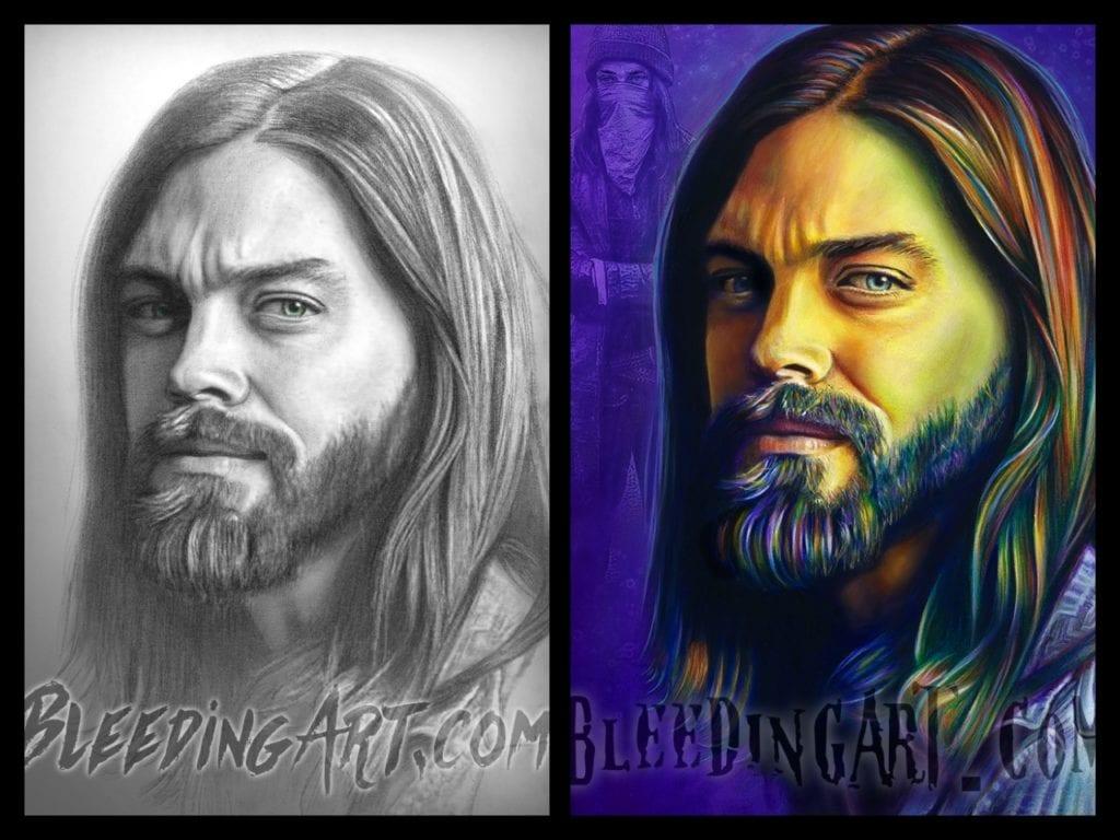 Scott Spillman, The Walking Dead, Jesus, Tom Payne