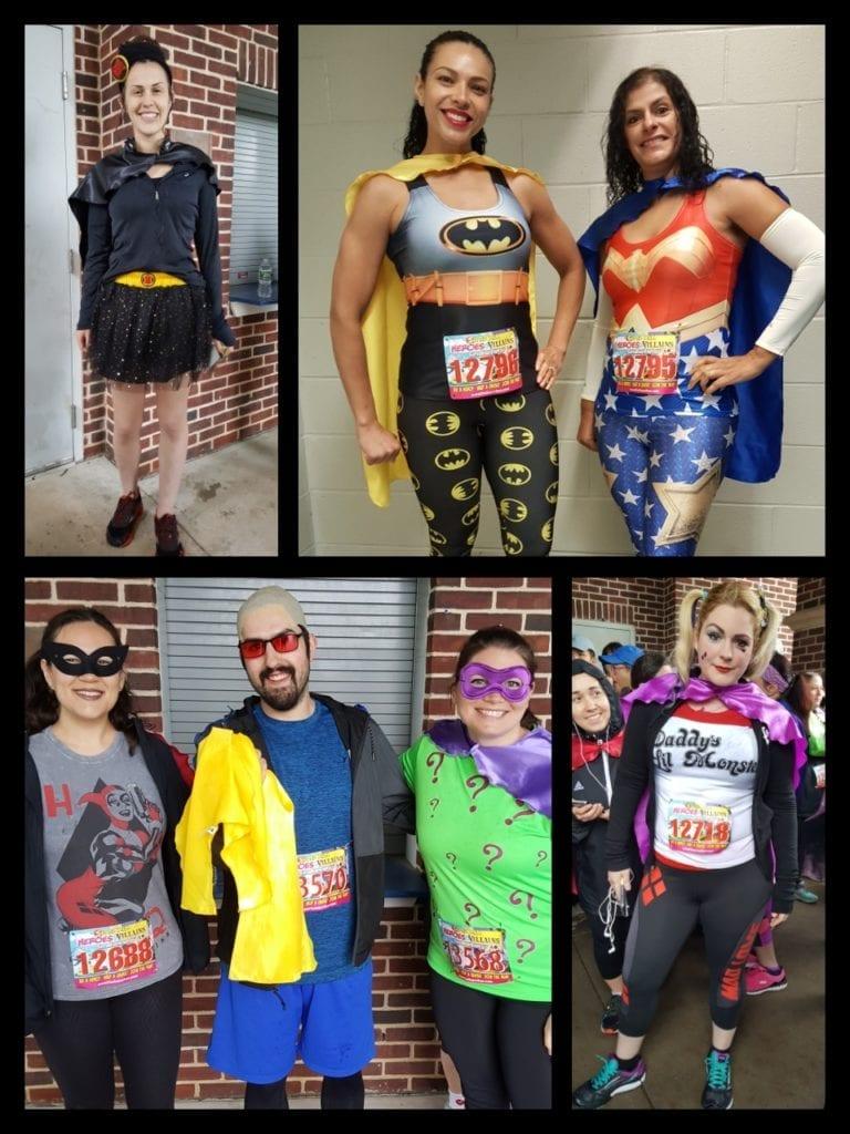 The Super Run, Costumes