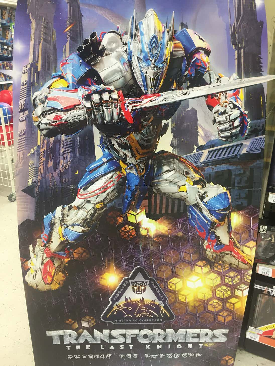 �transformers the last knight� new look for optimus