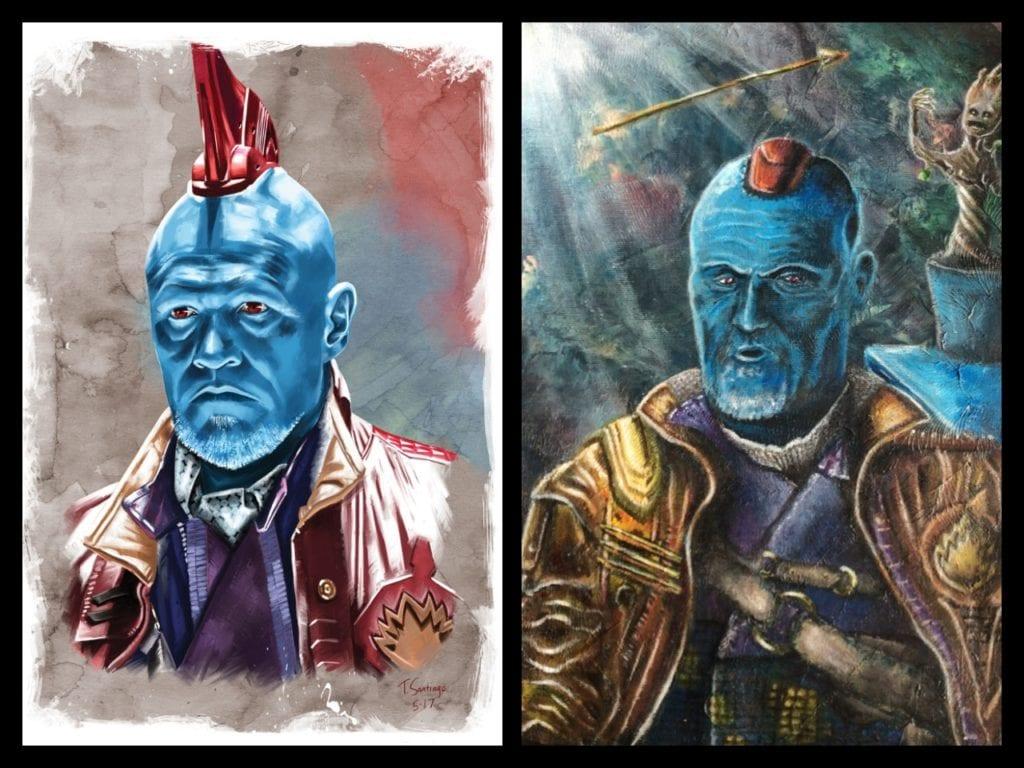 Yondu, Guardians of the Galaxy, Tony Santiago, Sandy Reaper