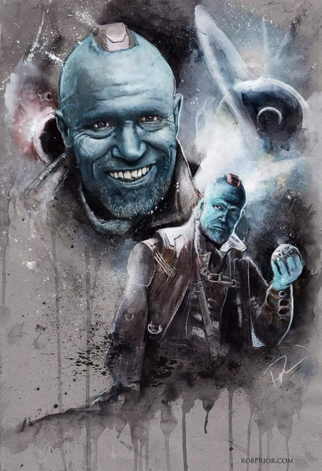 Yondu, Guardians of the Galaxy, Rob Prior