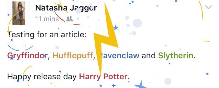 Colour By Number Harry Potter : Facebook has some tricks up its sleeve for harry potters 20th