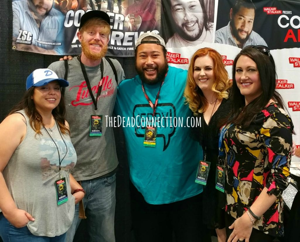 Cooper Andrews, Jerry, The Walking Dead, Walker Stalker Con