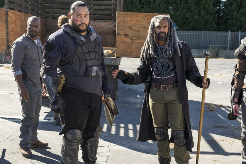 Cooper Andrews, Jerry, Khary Payton, King Ezekiel, The Walking Dead