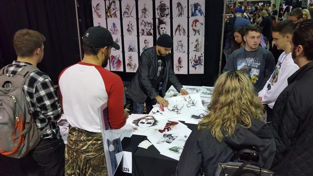 JaCo Tartaruga, Heroes and Villains Fan Fest, Walker Stalker Con