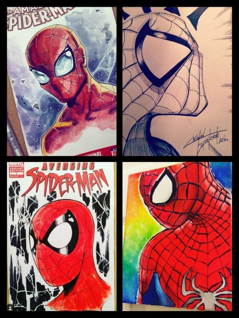 Spiderman, Bella Rachlin, Christian Espiritusanto, Will Torres, Instagram - @xxmalia_shelleyxx
