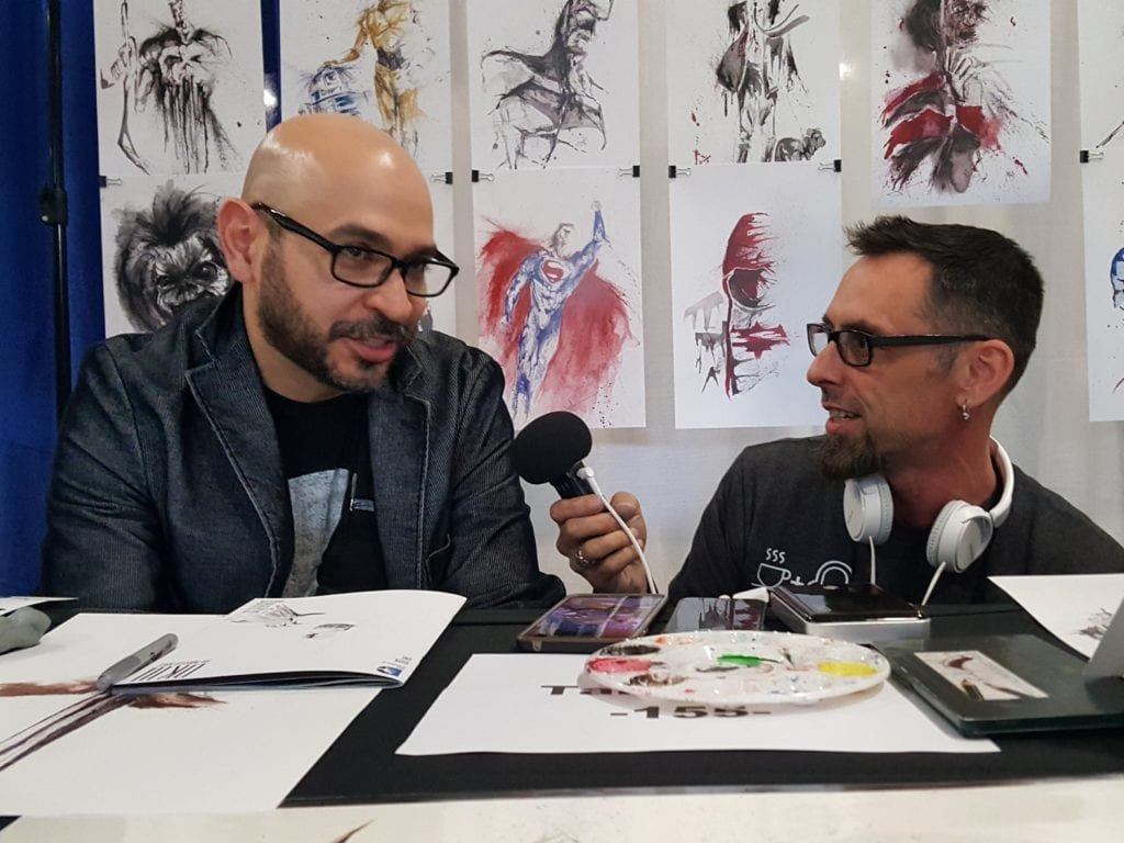 JaCo Tartaruga, DW, Hudson Valley Comic Con, Earplug Podcast