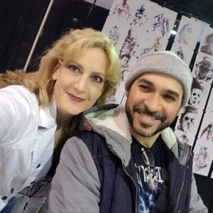 JaCo Tartaruga, Linda Marie, Heroes and Villains Fan Fest, Walker Stalker Con