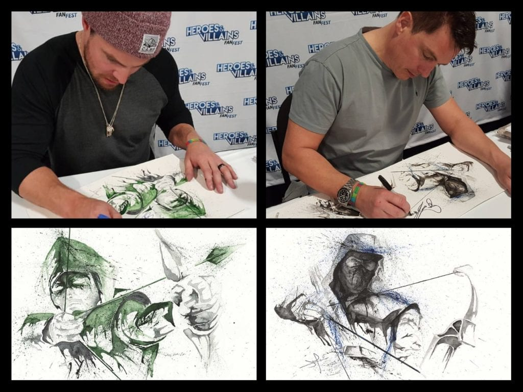 JaCo Tartaruga, Arrow, Stephen Amell, Dark Archer, John Barrowman