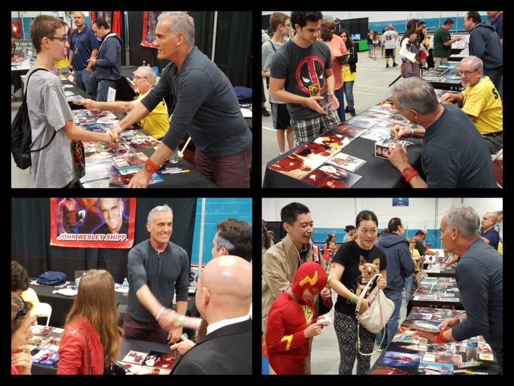 John Wesley Shipp, The Flash, Garden State Comic Fest