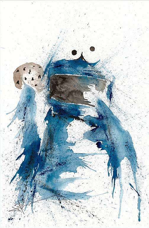 JaCo Tartaruga, Cookie Monster