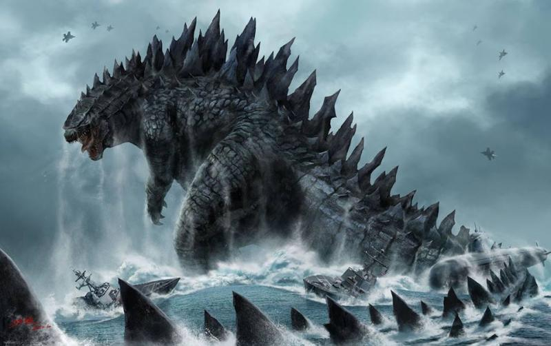 godzilla king of the monsters begins filming teases more
