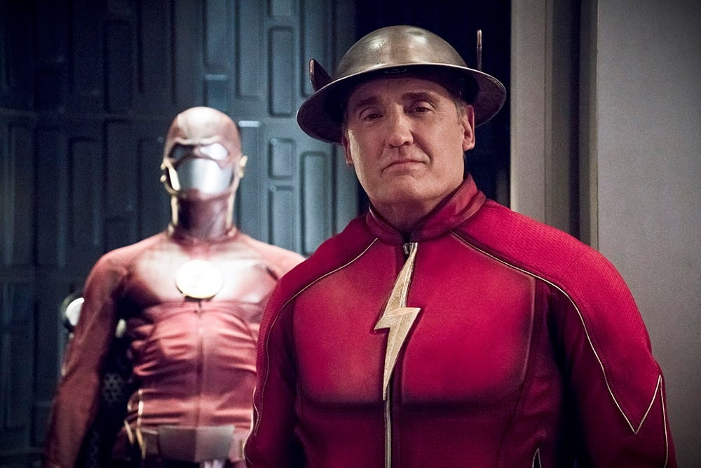 Fan Fest Exclusive John Wesley Shipp Catching Up With The Flash
