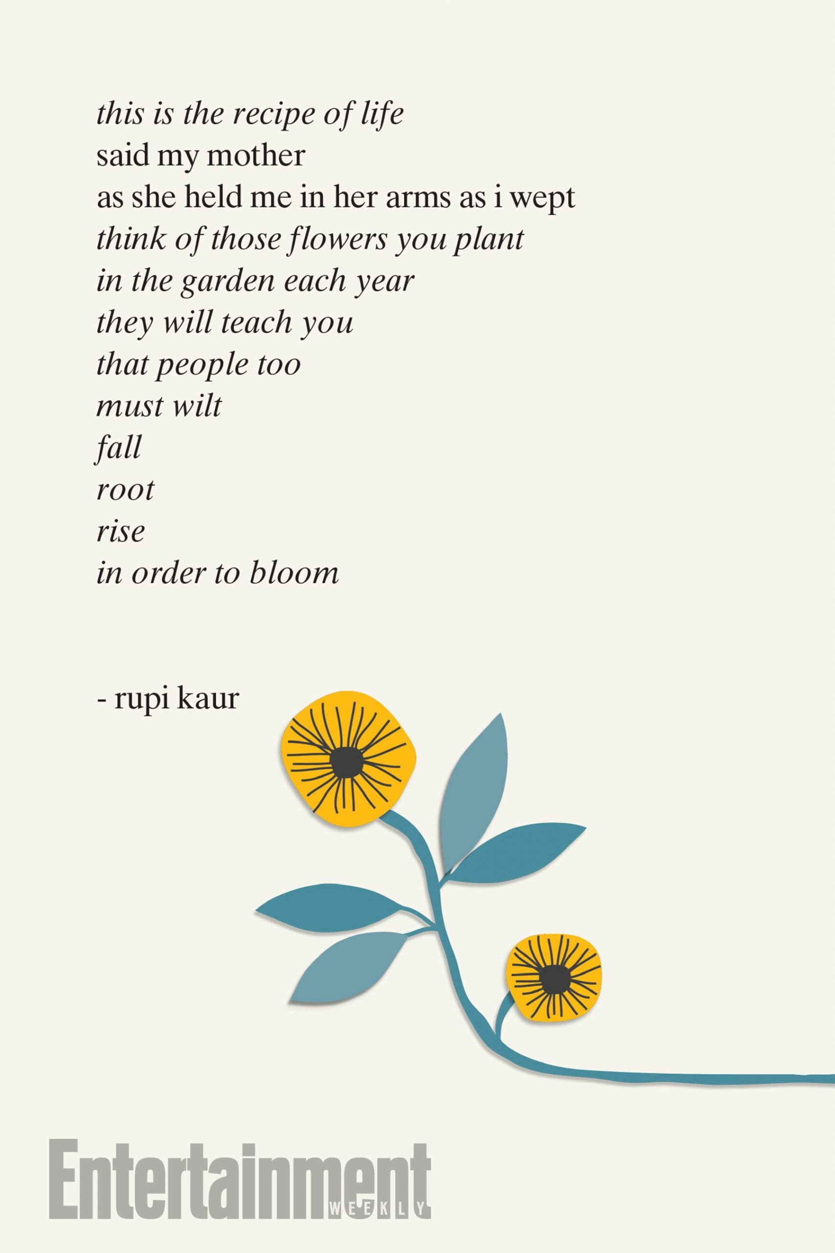 Rupi kaur announces new book the sun and her flowers for Minimalist living a meaningful life pdf
