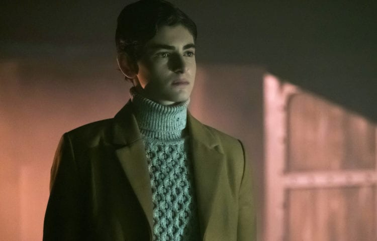 GOTHAM: David Mazouz in the first half of the special two-hour season finale episode of GOTHAM, ÒHeroes Rise: Destiny Calling,Ó airing Monday, May 29 (8:00-9:00 PM ET/PT) on FOX.Ê Cr: Jeff Neumann/FOX